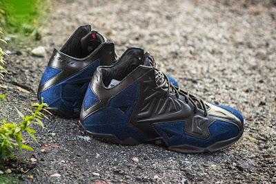 nike lebron 11 nsw sportswear ext denim 5 03 Release Reminder: Nike LeBron XI Ext Denim QS