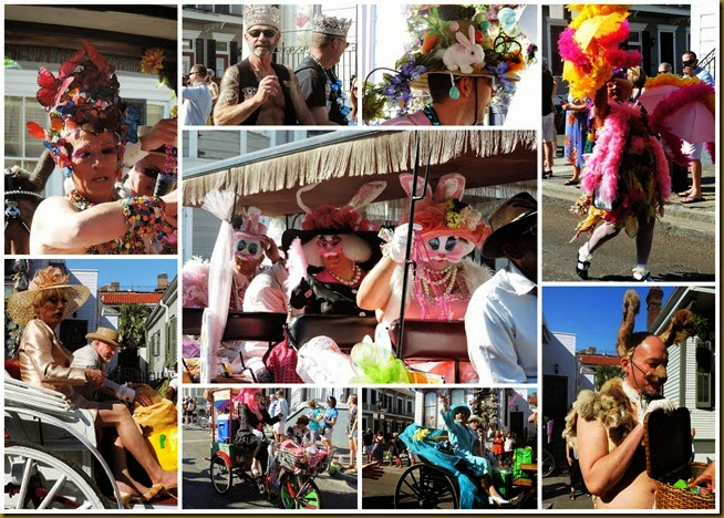 gay easter parade collage