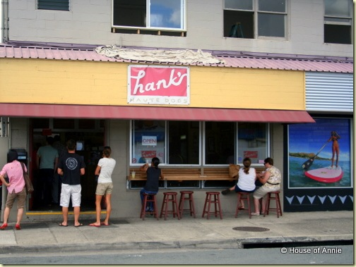 Hanks Haute Dogs Honolulu