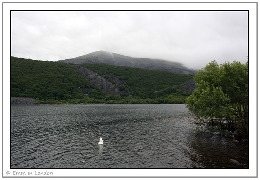 Slate Mountains Llyn Padarn