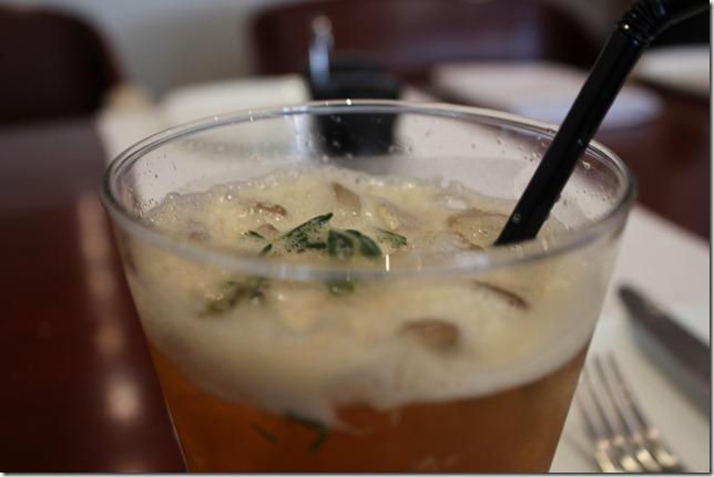 apple & rosemary ice tea