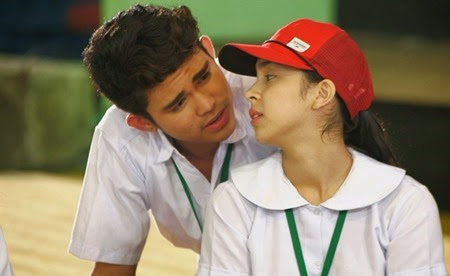 Inigo Pascual and Julia Barretto in MMK
