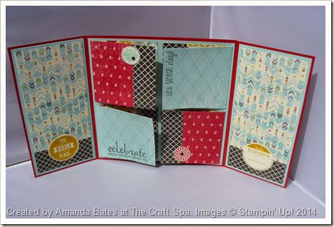 Starburst Sayings, Flashback, 8inch Flip Album, By Amanda Bates, The Craft Spa, 2014-07 (45)