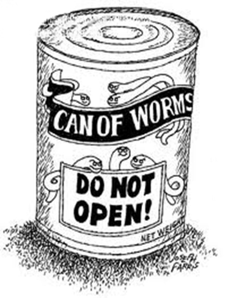 can of worms do not open