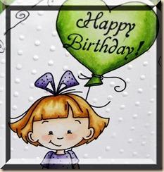 Sassy Cheryl's, Sassy Sally's Heart Balloon, ODBD Little Girls