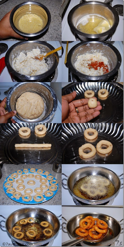 Ring murukku process