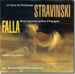 Stravinsky Consagracion Cascavelle