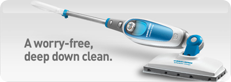black and decker steam mop giveaway