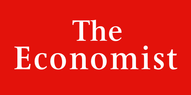 The masthead for The Economist magazine. Graphic: The Economist