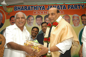 With Senior BJP Leader Sri Rajnath Singh