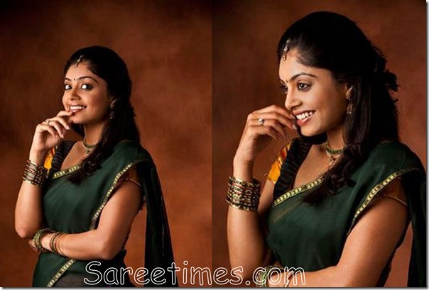 Shikha_Green_Saree