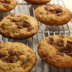 Bacon-Thyme Corn Muffin Tops
