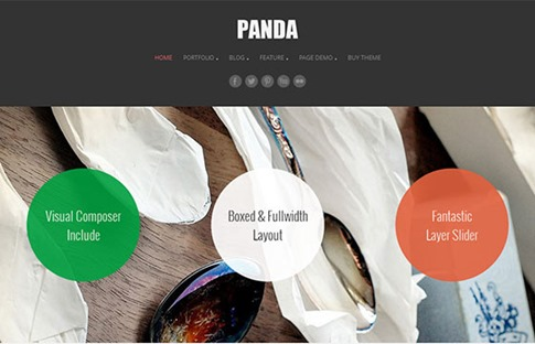 Creativo theme para WordPress