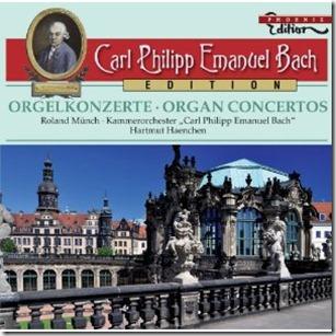 CPE Bach Conciertos organo Haechen