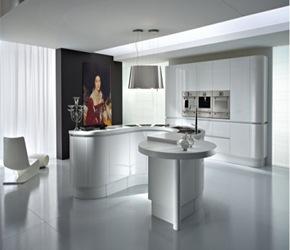 18 disenos de cocinas modernas - Cocinas blancas de diseno ...