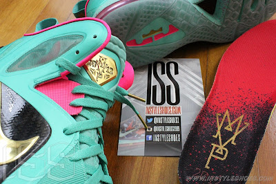 nike lebron 9 ps elite statue of liberty pe 3 13 Nike LeBron 9 PS Elite Statue of Liberty PE Has a Twin!