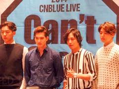 CNBLUE Can't Stop Presscon