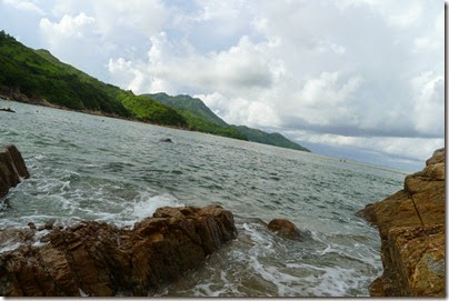 the beach at Lamma Island 南丫島