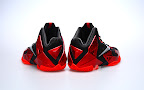 nike lebron 11 gr black red 2 06 New Photos // Nike LeBron XI Miami Heat (616175 001)