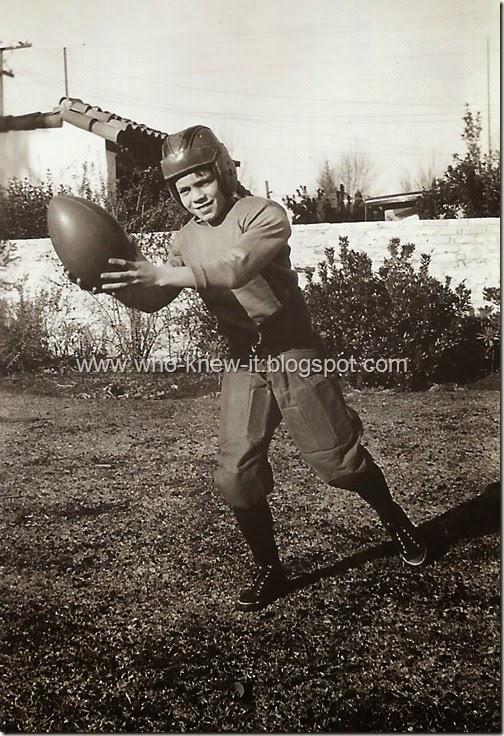 Football Xmas Day 1937