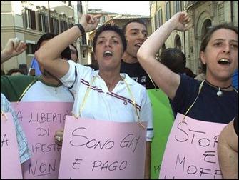 Italia Manifestantes