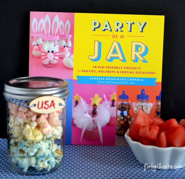 Party in a Jar Book - 16 kid-friendly crafts using jars!