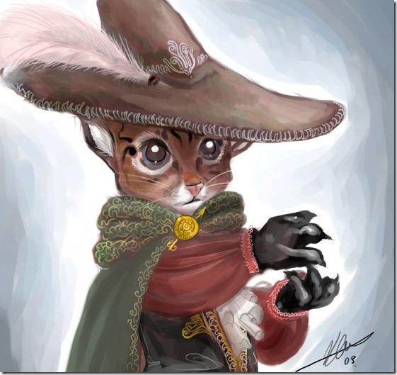 El Gato con Botas,El gato maestro,Cagliuso, Charles Perrault,Master Cat, The Booted Cat,Le Maître Chat, ou Le Chat Botté (56)