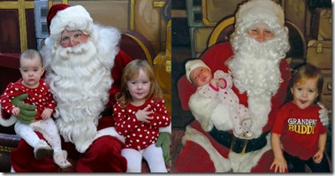 santa and the girls 2010.2011