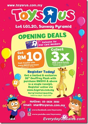 Toyrus-Sunway-Opening-Deals-2011-A-EverydayOnSales-Warehouse-Sale-Promotion-Deal-Discount