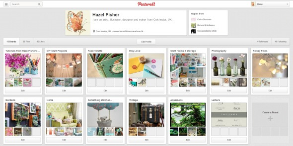 2013Mar07 pinterest joined