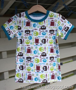 t-skjorte med ooga