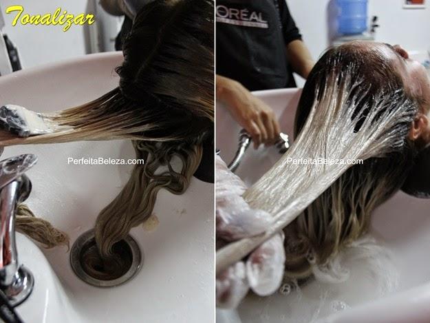 como tonalizar o cabelo