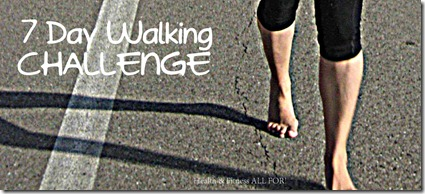 7 Day Walking Challenge