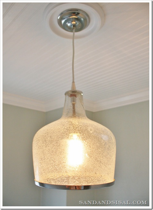 How to Install a Light Fixture - Sand and Sisal