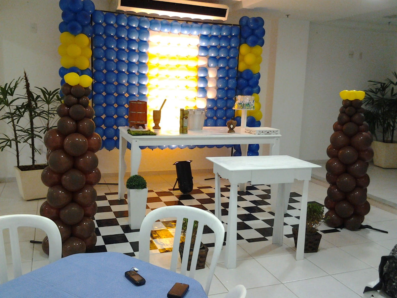 uma surpresa para seu namorado, decoração Jeitinho malu Festas