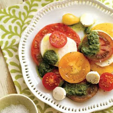 Tomato-Mozzarella Salad with Pesto