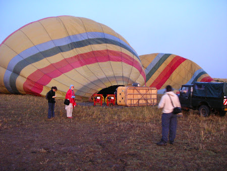 Safari: balloon travel