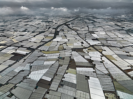The Greenhouses of Almeria Amusing Planet