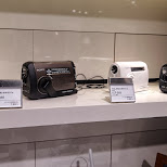 new SONY products ICF-B88 and ICF-B08 in Ginza, Tokyo, Japan