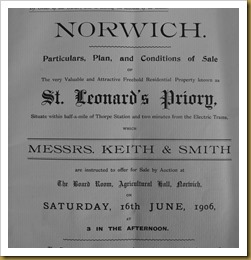 St Leonard's sale particulars