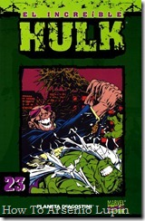 P00023 - Coleccionable Hulk #23 (de 50)