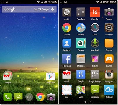 MI3-Google-Now-Launcher
