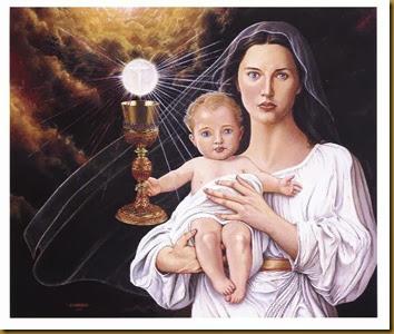 MARIA Y LA EUCARISTÍA