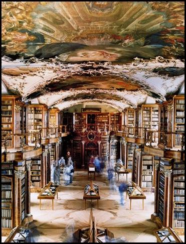 Bibliothèque de l'Abbaye Saint-Gall , Suisse (3)