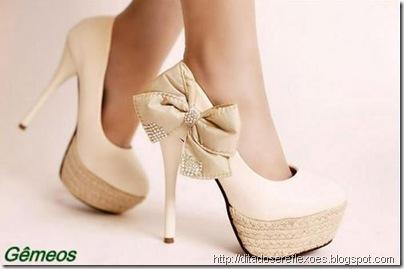 sapatos dos signos  - gêmeos