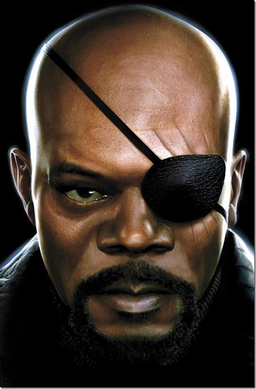 Nick Fury,Nicholas Joseph,Samuel L. Jackson, David Hasselhoff (4)