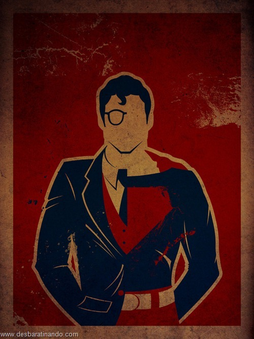 super-homem desbaratinando