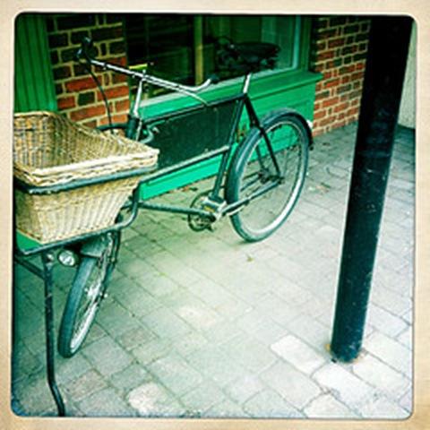 May - a bicycle