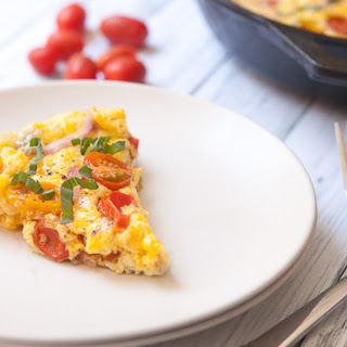 Roasted Cherry Tomato Frittata