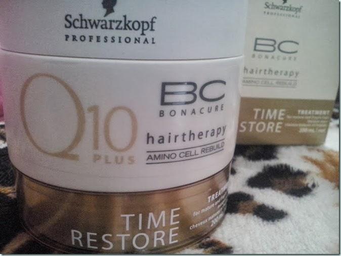 Testei Mascara Bonacure Q10 Plus Schwarzkopf